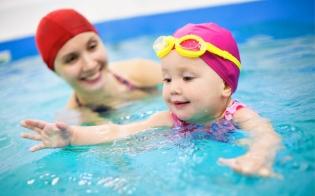 Суперскидки на детское плавание для наших мам!